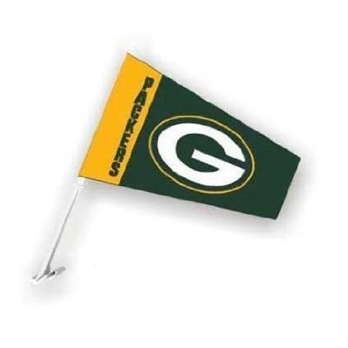 Fremont Die Green Bay Packers Auto Windsock Car Flag Fremont Die Consumer Products Inc.