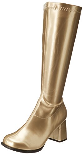 Ellie Shoes Women's Gogo Boot, Gold, 8 M US]()
