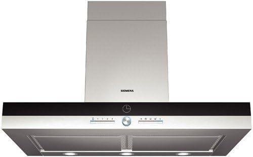 Siemens LC958BA90 - Campana (Canalizado/Recirculación, 820 m³/h, 59 Db, Montado en pared, Halógeno, Azul, Color blanco): Amazon.es: Hogar