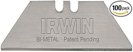 Irwin en acier au carbone lame Distributeur Pack de 100