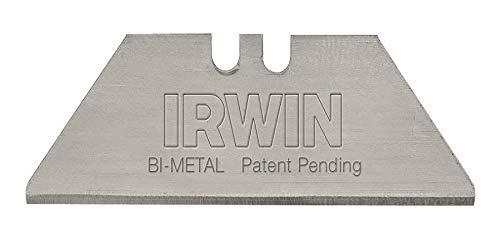 IRWIN Bi-Metal Blue Utility Knife Blades,  2084400, Pack of 100