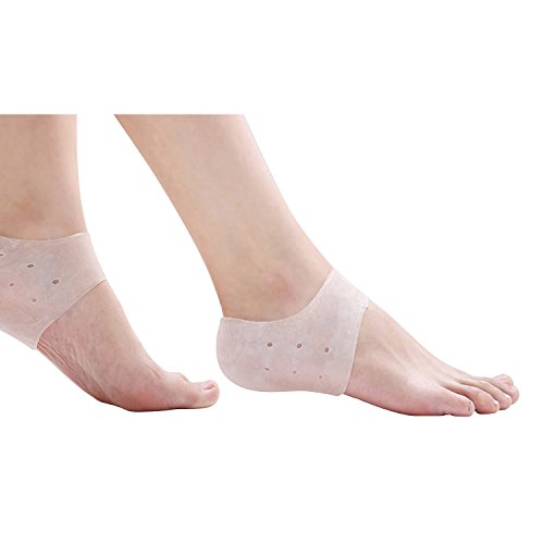 silicone-heel-protector-gel-heel-sock-cushion-protector-sleeve-foot-feet-care-tool-plantar-fasciitis