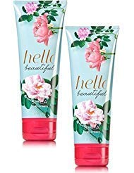 Bath and Body Works 2 Pack Hello Beautiful Ultra Shea Body Cream 8 Oz. ()