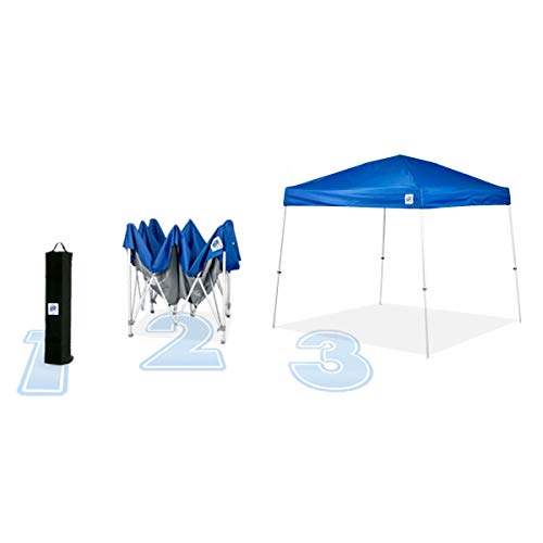 E-Z UP SR9104BL Sierra II 10 by 10-Feet Canopy, Blue