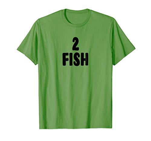 Two Fish Group Halloween Costume T-shirt