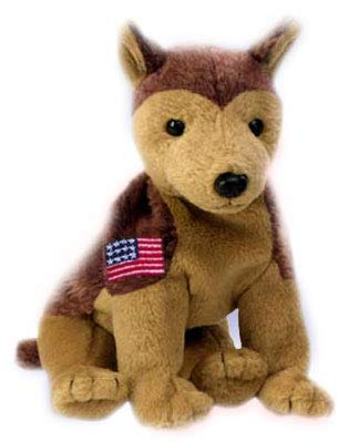(Ty Beanie Babies Courage NYPD German Shepherd Dog)