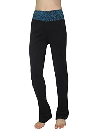 Womens Comfortable Casual-wear Lounge pants / Yoga Pants 4X Black