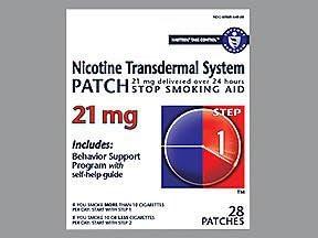 Habitrol Nicotine Transdermal System Patch 21 mg Step 1-28 ct, Pack of 4
