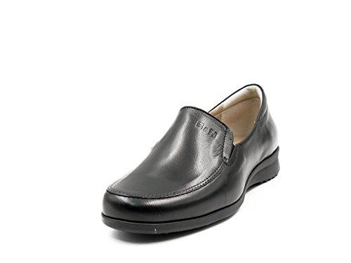 Zapato 30n Mocasín Pitillos Cómodos Tipo Color Negro Mujer En Piel 2700 PwBqrP1