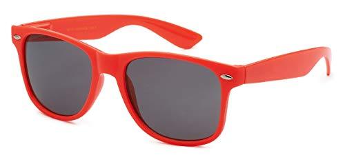 Hot Pink Wayfarer Sunglasses (Sunglasses Classic 80's Vintage Style Design (Neon)