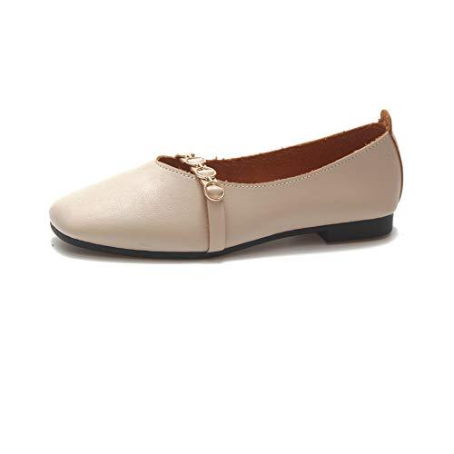 38 Fuxitoggo EU Ballet tamaño Blanco Negro Zapatillas de Color pqpw0Fg