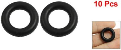4/mm x 18/mm en caoutchouc noir d/étanch/éit/é O Ring Joint d/étanch/éit/é Rondelle /Œillets Lot de 10