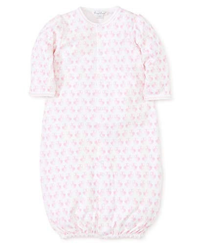 Kissy Kissy Baby-Girls Infant Owl Power Print Convertible Gown-Pink-Newborn