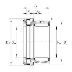 Iko NATA5908 Needle Bearing