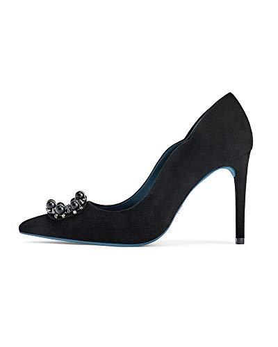ection Leather high Heel Shoes 1240/001 (36 EU | 6 US | 3 UK) ()