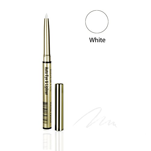 One & Only Cosmetics Waterproof Auto Eye & Lip Liner Pencils (White) - Liner Auto Pencil