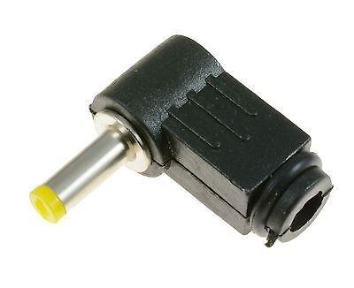 10x 1, 7mm x 4.0mm prise mâle à angle droit connecteur jack DC Power Tip L 7mm x 4.0mm prise mâle à angle droit connecteur jack DC Power Tip L Switch Electronics