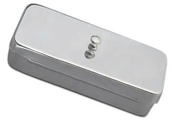 Drain Pan Dish Container with Lid Instrument Rustproof Stainless Steel InstrumenteNRW IS-BD-024