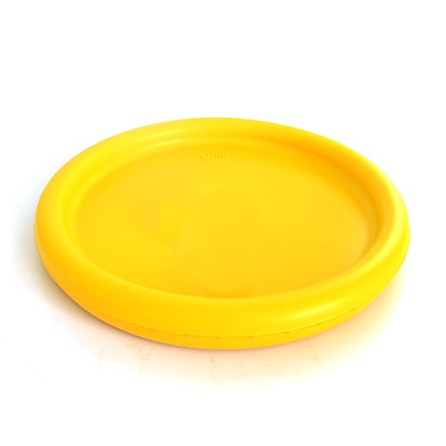 - Flytoup Foam Frisbee Disc Parent-Child Interaction Toy 2Pack Soft Frisbee Disc Outdoor Kids Toy Flyer Foam Disc Fun Sports Games for Boys Girls Family (yellow)