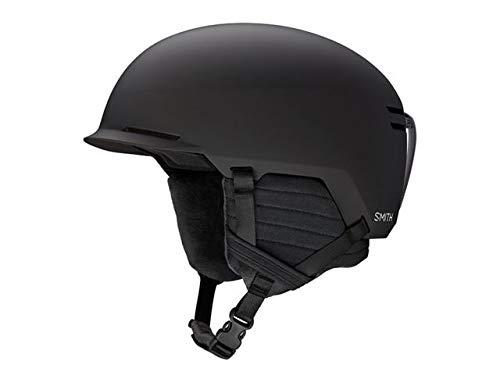 Smith Optics Scout Adult Ski Snowmobile Helmet - Matte Black/Xlarge