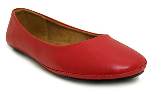 Kali Footwear Womens Pala Ballet Flats Red OFGfR3