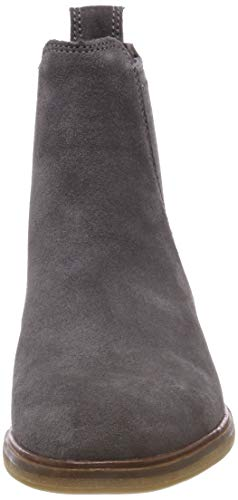 Clarks Gris Clarkdale Arlo Bottes Suede Chelsea Femme Grey OfgOSqwx