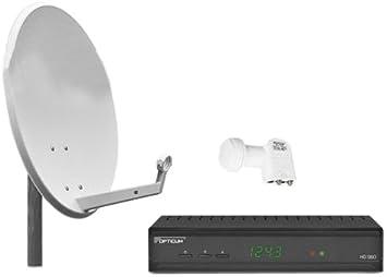 Opticum HD S60 - Kit de instalación de TV por satélite (2 ...