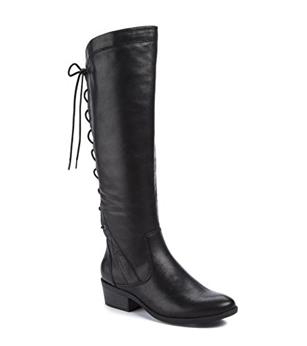 BareTraps Women's Bt Gardyna Riding Boot, Black, 8 US/8 M US by BareTraps