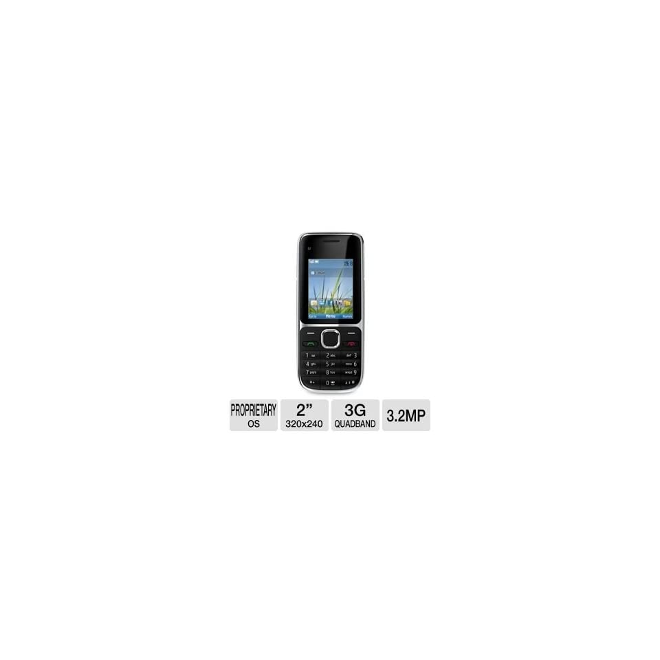 Nokia 002V953 C2 01.5 Unlocked GSM Cell Phone Cell Phones & Accessories