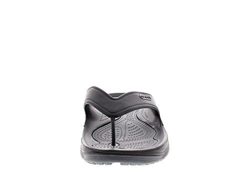 CROCS - Tongs MODI 2.0 FLIP - black charcoal, Taille:46-47 EU