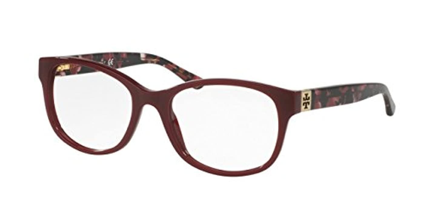 Tory Burch TY2066 Eyeglass Frames 1610-51 - Port/Pearl Port Tortoise