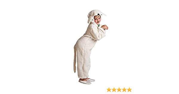 Disfraz de Oveja blanca para niños: Amazon.es: Juguetes y juegos