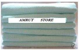 Cuadrados de muselina para beb/é 100/% algod/ón, 72 x 72 cm, 6 unidades Dudu N Girlie color rosa