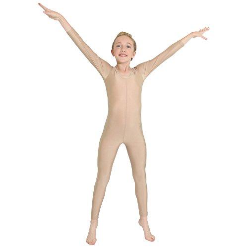 Danzcue Full Body Unitard Child Medium Nude