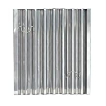 """Flame Gard?Type III Stainless Steel Baffle Grease Filter - 25"""" x 20"""" - 302520 by Flame Gard"""