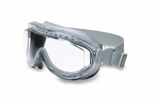 Uvex S3420X Flex Seal Safety Goggles, Gray Body, Clear Uvextreme Anti-Fog Lens, Neoprene Headband