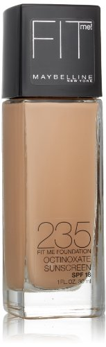 Beige Pure Foundation (Maybelline Fit Me Dewy + Smooth Foundation, Pure Beige, 1 fl. oz. (Packaging May Vary))