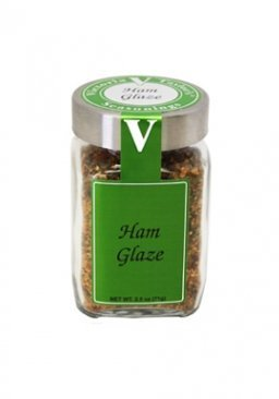 Ham Glaze - 2.5 Oz Jar - Victoria Gourmet - Quality, all-natural seasoning blend. Make The perfect Baked Ham or glazed bacon. Just in time for winter! by Victoria Taylor's