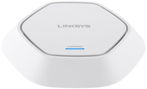 Linksys LAPN-600-EU N600 Access Point (600 Mbit/s, PoE, MIMO 2x2), weiss