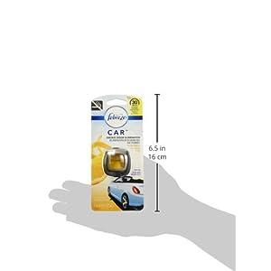 Febreeze Car Vent Clips Air Freshener Smoke Odor Eliminator, Citrus