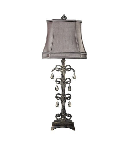 Durand Table Lamp (Table Lamps 1 Light With Durand Finish Composite Material Medium Base Bulb Type 37 inch 100 Watts)