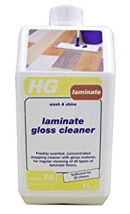 Laminate Gloss Cleaner 1L by Hg
