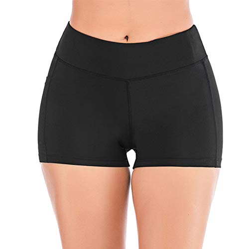 Whitegeese Women's Running Shorts Stitching Hip Lifting Leggings Stretch Pants Fitness
