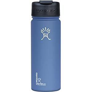 Hydro Flask Insulated Coffee, Tea and Water Bottle - 18 oz Everest Blue