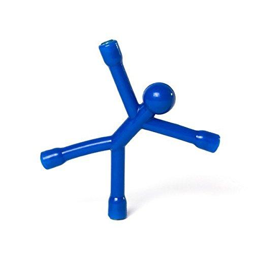 Farbe:rot Magnet M/ännchen Flexman flexibel mit 4 Neodym Magneten gro/ße Farbauswahl