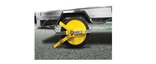 MP Trailer, Caravan & Motor home 8' - 10' Security Anti Theft Wheel Tyre Lock Clamp