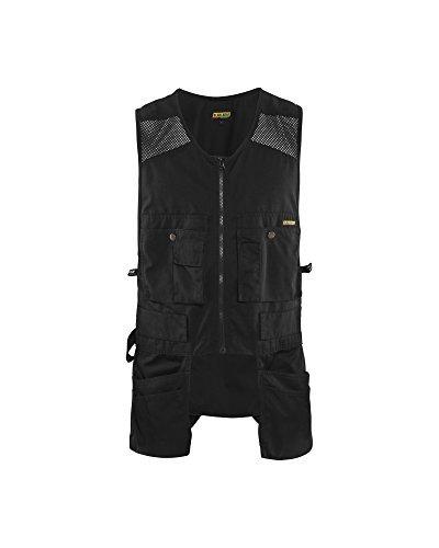 Blaklader Black Size XXXL US Utility Vest with Mesh