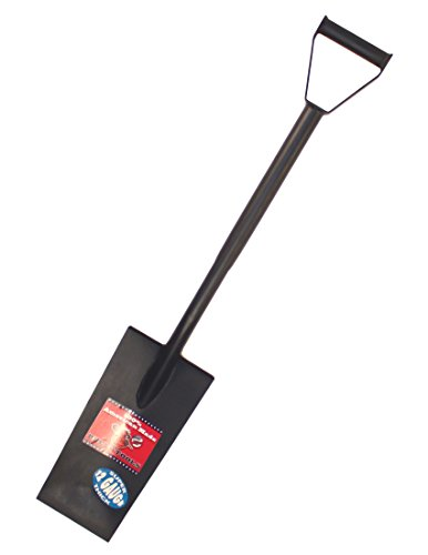 Bully Tools 92601 12-Gauge 15-Inch Steel Spade with D-Grip Handle ()