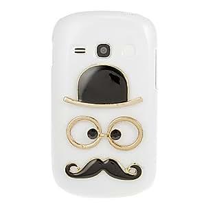 WQQ Teléfono Móvil Samsung - Cobertor Posterior - Diseño Especial - para Samsung Galaxy Fame ( Multi-color , Plástico )