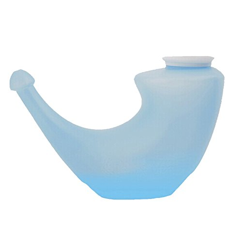 eYourlife2012 YOGA Neti Pot Nose Cleansing Irrigation Nasal Wash System Cleaner (Blue)